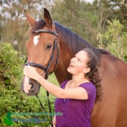 Fotoshoot met paard - Armelle en Zidane